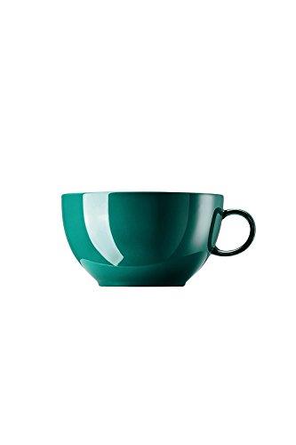 Rosenthal - Sunny Day - Seaside Green - Cappuccino Obertasse - Porzellan - 0,38 l