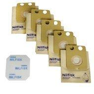 Nilfisk Advance Lot de 5 sacs en papier pour aspirateur