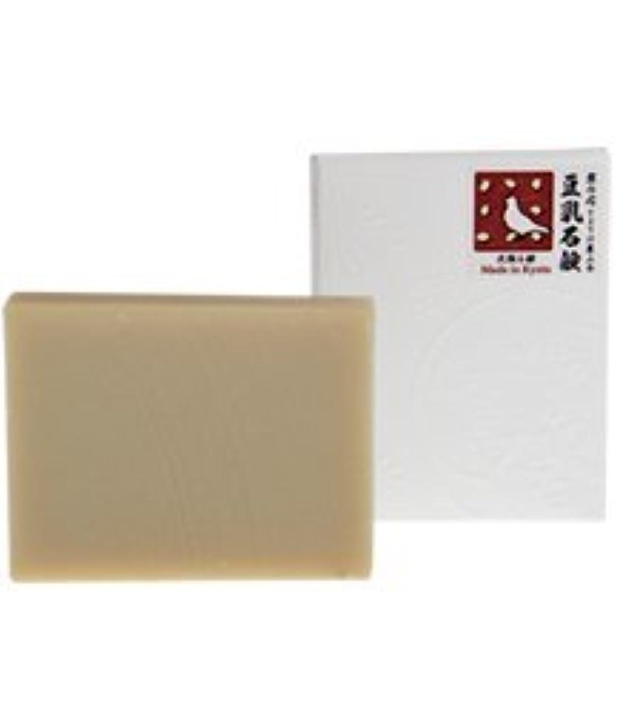 代数的広告デッドロック豆乳石鹸|石鹸屋(京都しゃぼんや×とようけ屋山本)洗顔石鹸
