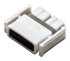 AMPHENOL LTW Plug HOUSING, 4POS, THERMOPLASTIC, WHT SSL12-P4FP0-M00001