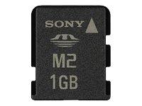 Sony MSA1GN2 Memory Stick Micro M2 Flash-Speicherkarte 1GB