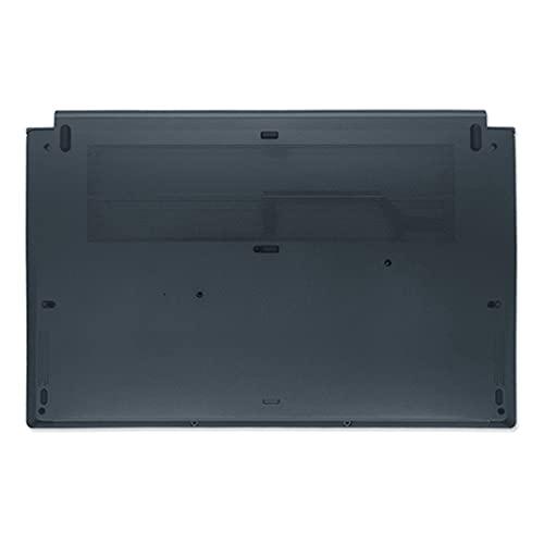 fqparts Cubierta Inferior de la Caja del Ordenador portátil D Shell para MSI For Modern PS63 Negro