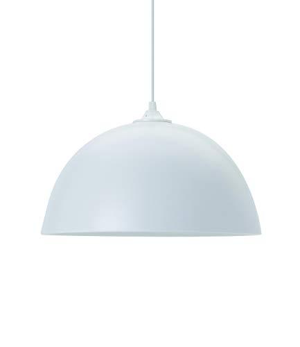 Lussiol 250324 Suspensions d'éclairage intérieur, Céramique, Blanc Mat