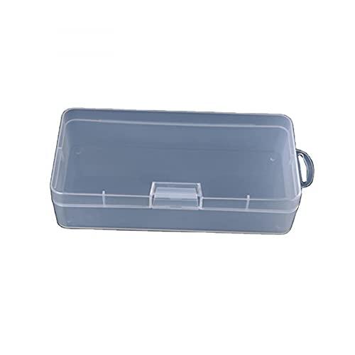 MUY Rectángulo de plástico Transparente Caja vacía componente Caja de Embalaje de Herramientas Caja de Almacenamiento de reparación de teléfonos móvil