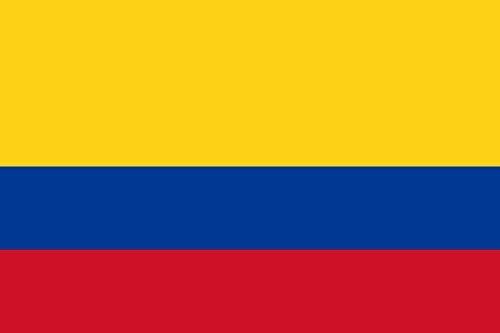 magFlags Drapeau XXXS Colombie | Drapeau Paysage | 0.135m² | 30x45cm