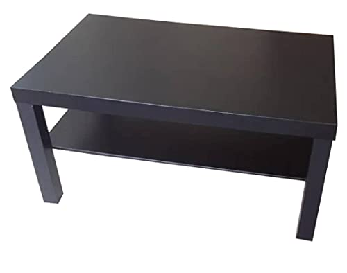 Ikea Mesa de sofá Lack, Color Negro marrón, 90x 55cm