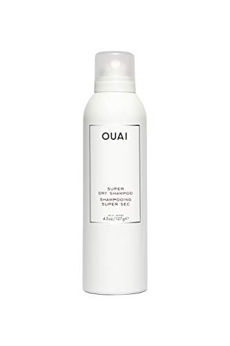 OUAI Super Dry Shampoo. Cleanse, Remove Product Buildup and Refresh Hair without Water. Adds Instant Volume and Shine to Fine, Oily Hair. Free from Parabens and Sulfates (4.5 oz)