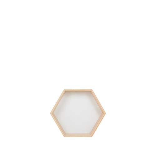 Dooxii Estantes Flotantes Hexagonales Montados Pared