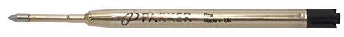 PARKER ボールペン クインクフロー 替芯 リフィル ブラック F (細字) 1079041