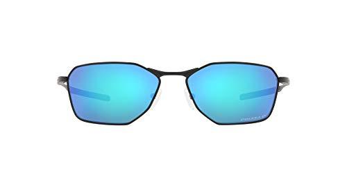 OO6047 Savitar Sunglasses, Satin Black/Prizm Sapphire Polarized, 58mm