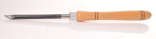 Wiedemann HSS Ø 13mm Doppelschliff Spindelformröhre mit Heft (Griff) für Drechsler drechseln, Woodturner Woodturning