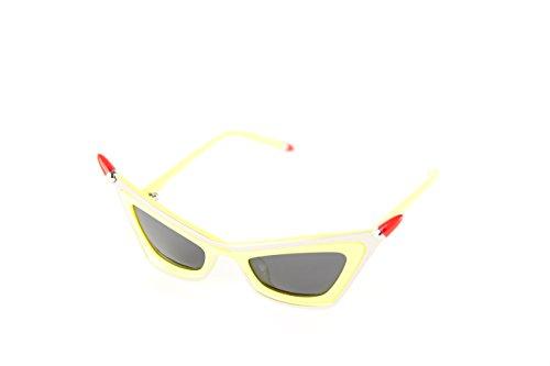 Moschino MO-822S-04 Gafas de sol, Yellow, 48 para Mujer