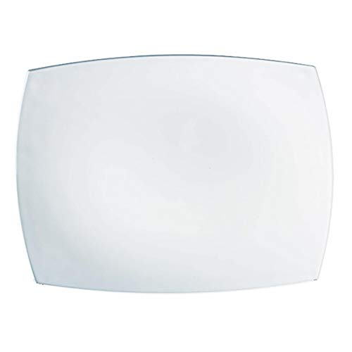 Luminarc Quadrato Blanc - Fuente Rectangular Opal 35X25Cm