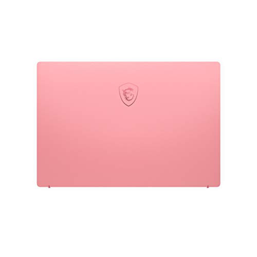 MSI Prestige 14 A10RAS-076IN Intel Core i5-10210U 10th Gen 14-inch Laptop(16GB/512GB NVMe SSD/Windows 10 Home/MX330, 2GB Graphics/Pink/1.29Kg )9S7-14C213-076