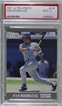 Ivan Rodriguez Graded PSA 9 MINT (Baseball Card) 1991 Fleer Ultra Update - Factory Set [Base] #U-58
