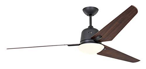 Unbekannt Casafan Deckenventilator mit Licht 516095 Eco AVIATOS 162 Nogal/Basaltgrau BG-NB