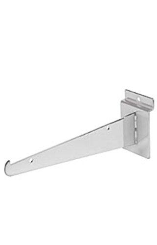 8 inch Super Special SALE held Chrome Shelf Bracket Slatwall 10 - Pk for Store