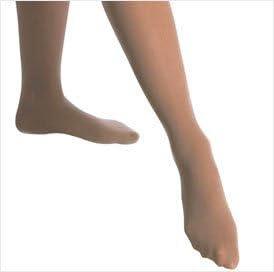 Mondor 3371 Opaque Plus Adult Footed Tights - Suntan