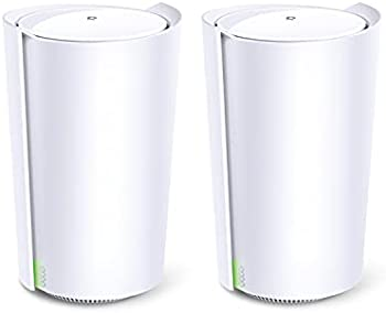 2-Pack TP-Link Deco X90 Tri-Band Mesh Wi-Fi 6 System