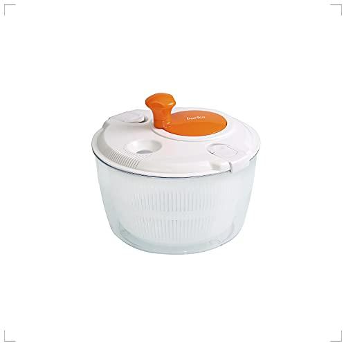 Barico Mighty Salad Spinner (Orange) /Salatschleuder, Gemüseschleuder
