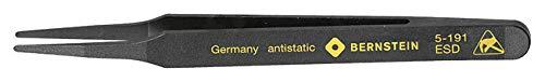 Bernstein 5-191 Pince en plastique conductrice à bout rond 120 mm