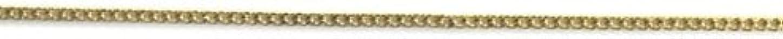 グラフ隠す精巧なプリティーネイル ネイルアートパーツ プレーンチェーンSS ゴールド 1m 1個