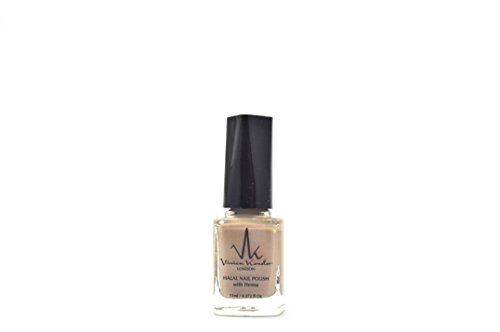 Vivien Kondor Henna Halal Permeable Nail Polish Ha07 Rose Gold 11 ml