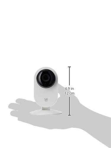 YI Überwachungskamera 1080p Innen WiFi IP Sicherheitskamera mit Bewegungserkennung Nachtsicht Zwei-Wege-Audio, Baby Monitor Haustier Kamera unterstützt Fernalarm und App Kontrolle
