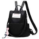 Handtas, rugzak voor dames/reisrugzak, spatwaterdicht, rood/kihli zwart, Netto (rood) - 666-888-999