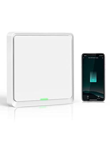 Interruptor Zigbee Si Smart, SIN NEUTRO. Control en App Smart Life, Alexa y Google Home. Necesita Hub Zigbee 3.0