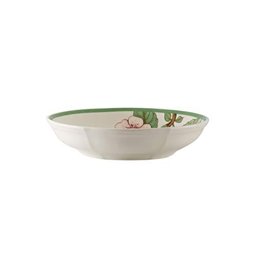 Villeroy & Boch French Garden Modern Fruits Cuenco 'Cereza', 24 cm, Porcelana Premium, Blanco/Multicolor
