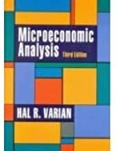 Microeconomic Analysis by Hal R. Varian (2010-08-01)