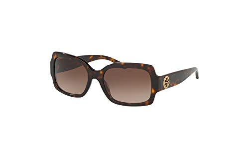 Tory Burch 0TY7135 172813 Women Sunglasses Dark/Tortoise - Light Brown Lenses 55MM