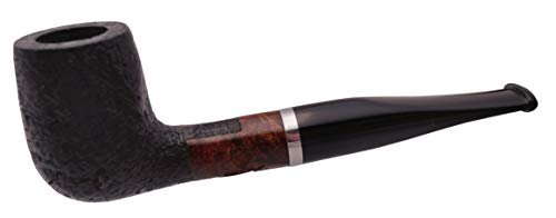 GERMANUS Pipa del Tabacco Set, Billiard 153 - Made in Italy - Sabbiato, un set con un...