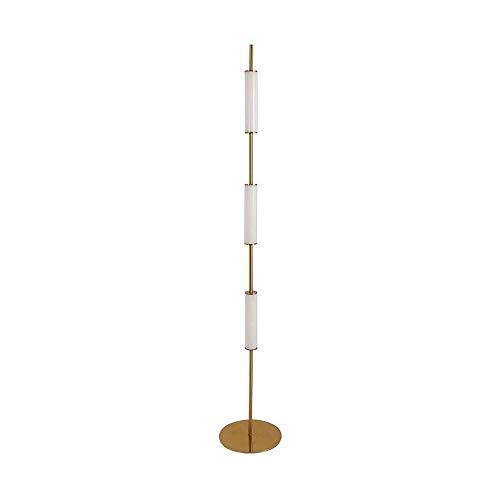 Tyannan Lámpara de pie moderna de vidrio minimalista nórdico posmoderna Salón Dormitorio lámpara de cabecera de la personalidad creativa atmósfera cálida decoración de la lámpara de piso