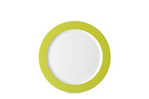 Rosti Mepal Grande assiette en mlamine lgre et rsistante Vert Lime
