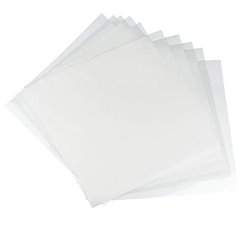 KOMIWOO 10 Pack 6 mil Blank Stencil Making Sheets 12 x 12 inch Ideal Compatible Silhouette Machines(Mylar Material)