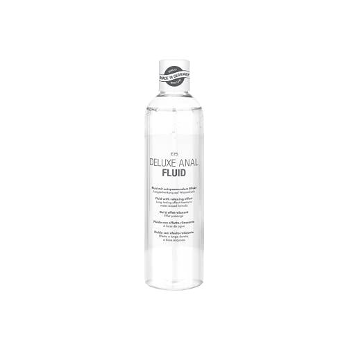 Deluxe Anal Fluid, entspannend mit leicht betäubendem Effekt, Langzeitwirkung auf Wasserbasis, 300 ml