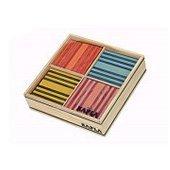 Kapla [ カプラ ]魔法の板 オクトカラー カラー[ カプラ ]8色 100ピース OCTO タイプB (おもちゃ 玩具 知育 積み木 プレゼント) [並行輸入品]