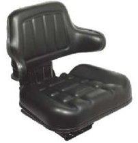 RM300 Sedile trattore con molleggio base inclinabile e modulo autocertificazione