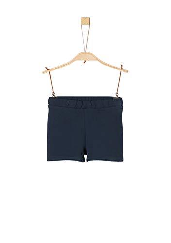 s.Oliver Mädchen 58.906.75.4983 Shorts, Blau (Dark Blue 5834), 128 (Herstellergröße: 128/REG)