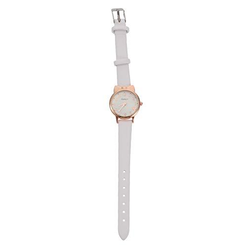 PartyKindom Reloj de cuarzo para niños y niñas, reloj de pulsera para niños y niñas, flamenco para niños