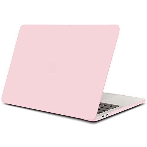 TECOOL Funda para MacBook Pro 13 2016/2017/ 2018/2019, Cubierta de Plástico Dura Case Carcasa para MacBook Pro 13 Pulgadas con/sin Touch Bar (Modelo: A1706 / A1708 / A1989/ A2159) - Cuarzo Rosa