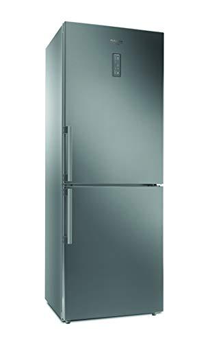 Hotpoint HA70BE 31 X Kombi-Kühlschrank, rostfrei, freistehend, F, 444L