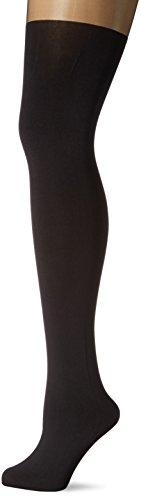 KUNERT Damen Strumpfhose Claudia Schiffer Legs, Overknee Optik, 100 DEN, Schwarz (Black 0440), 38/40