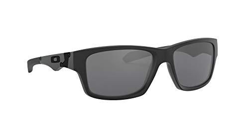 Oakley Men's OO9135 Jupiter Squared Sunglasses, Matte Black/Black Iridium Polarized, 56 mm