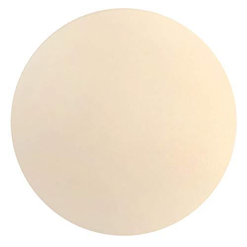 Katigan Pizzastein zum Backen-Cordierit Pizzasteinplatte für Grill Grillofen-Kochen und Servieren Von Pizzabrot KKSe-Runde 30,5 cm