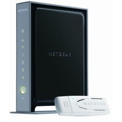 NETGEAR Wireless Router und USB-Adapter Kit (besteht aus WNR2000 und WN111)