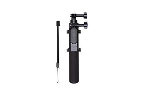 DJI Osmo Action Asta Telescopica - Può Raggiungere una Lunghezza Massima di 50 cm, Angolo Regolabile Fino a 90 Gradi per Filmare da Ogni Angolazione, Asta Selfie, Morsetto Integrato - Nero