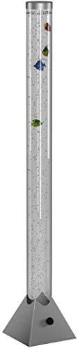 Reality Leuchten R5073-47 LED-Wassersäule, EEK A, mit Farbwechsler, inkl. 5-er Set Deko-Fische, in titanfarben - 3